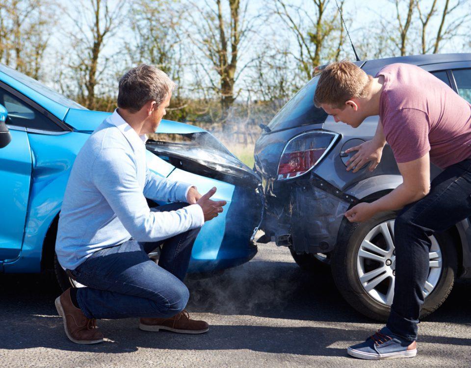 car accident, assessing car damage