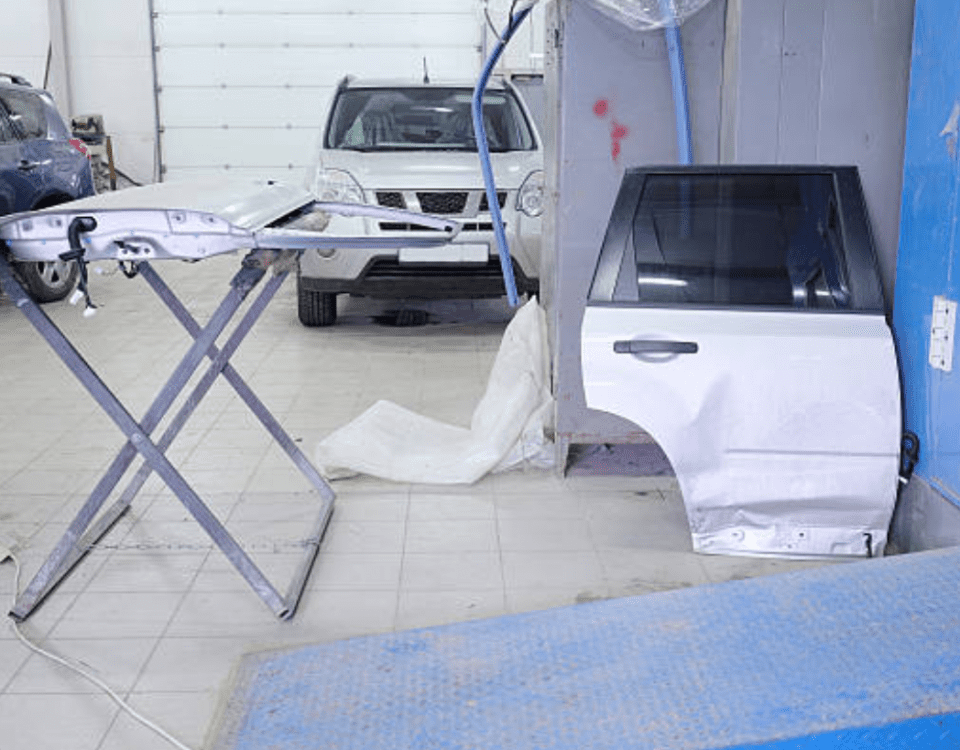 collision center, paint and body shop