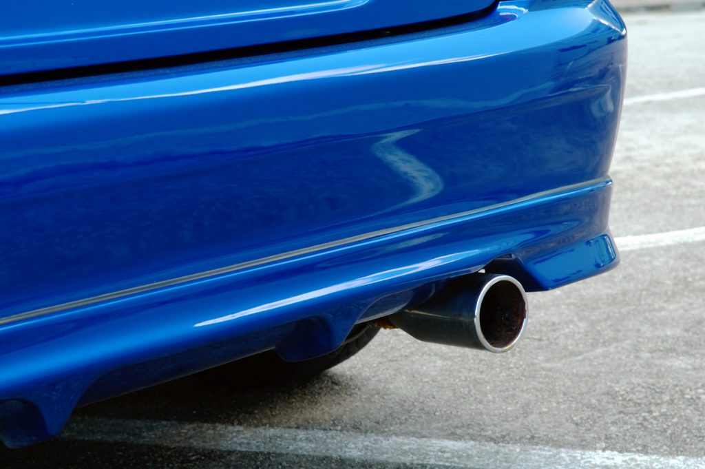 Bumper repair after an auto accident